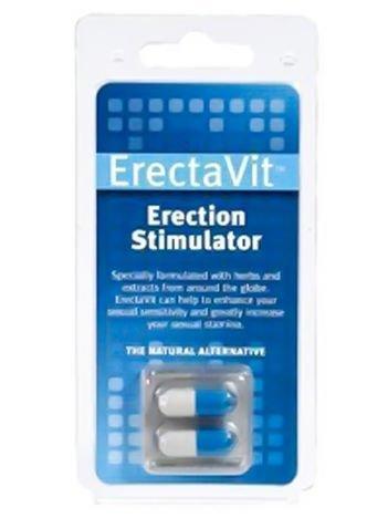 ERECTAVIT - Silna i mocna erekcja, witalność i niespotykana dotąd kondycja. Naturalne składniki. 2 szt.