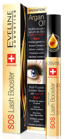 EVELINE ODŻYWKA DO RZĘS SOS LASH BOOSTER 10 ml