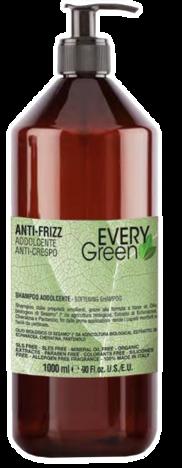 EVERYGreen Naturalny SZAMPON NAWILŻAJĄCY - ANTI-FRIZZ 1000 ml