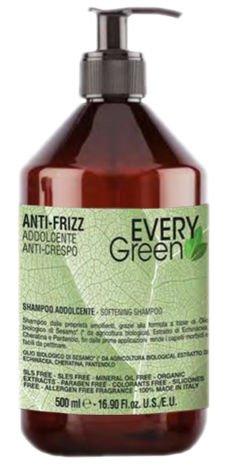 EVERYGreen Naturalny SZAMPON NAWILŻAJĄCY - ANTI-FRIZZ 500 ml
