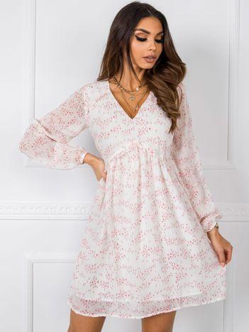 Ecru sukienka Bloom RUE PARIS