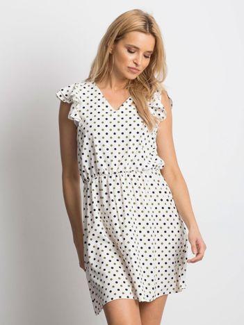 bef24111c2 Ecru sukienka Meticulous