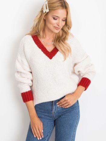 Ecru sweter Drive