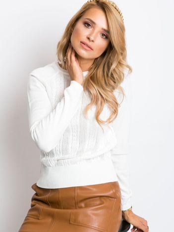 Ecru sweter Encore