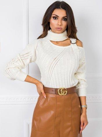 Ecru sweter Jasmina