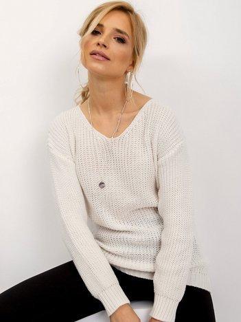 Ecru sweter Personal