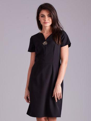 Elegancka sukienka damska czarna
