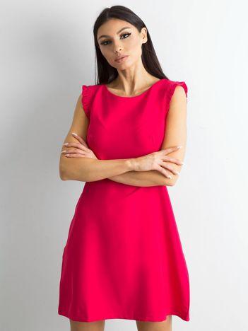 Elegancka sukienka różowa