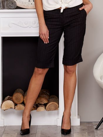 Eleganckie spodnie rybaczki czarne