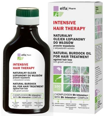 Elfa Pharm Intensive Hair Therapy Naturalny Olejek łopianowy przeciw wypadaniu włosów 100 ml