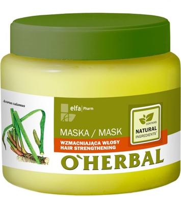Elfa Pharm O'Herbal Maska do włosów wzmacniająca 500 ml