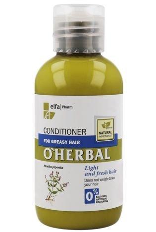 Elfa Pharm O'Herbal Odżywka do włosów przetłuszczających się z ekstraktem z mięty 75ml