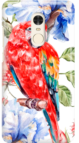 Etui do telefonu Xiaomi Redmi Note 4 Parrot