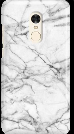 Etui do telefonu Xiaomi Redmi Note 4 White Marble