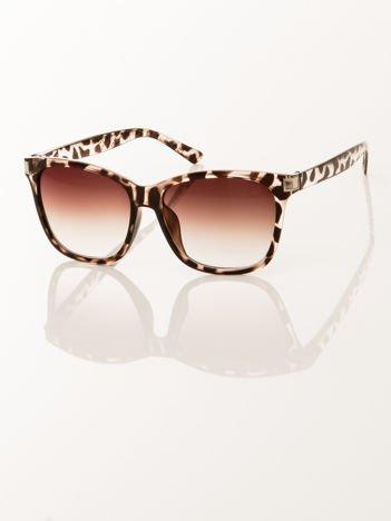 FASHION CLASSIC damskie okulary przeciwsłoneczne leopard