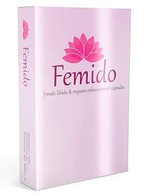 FEMIDO Skuteczny naturalny środek dla Pań zwiększający libido 30 kapsułek