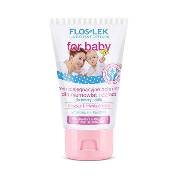 FLOSLEK Krem pielęgnacyjno-ochronny dla  niemowląt i dzieci 50 ml