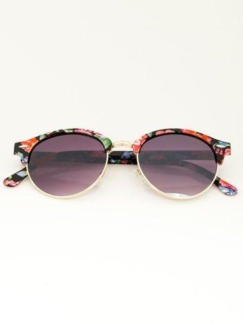 FLOWERS Damskie okulary przeciwsłoneczne