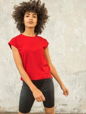 FOR FITNESS Czerwony t-shirt Keira