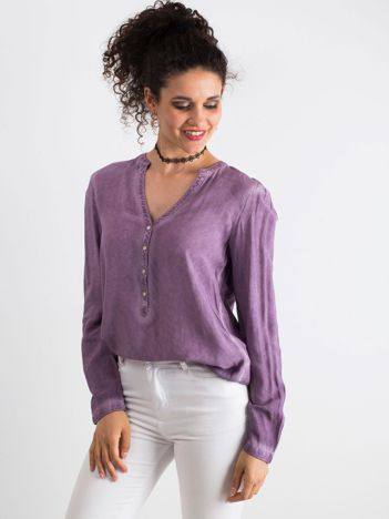 Fioletowa bluzka Galore