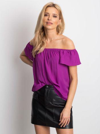 Fioletowa bluzka Mirage