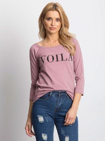 Fioletowa bluzka VOILA