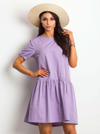 Fioletowa sukienka Style-conscious