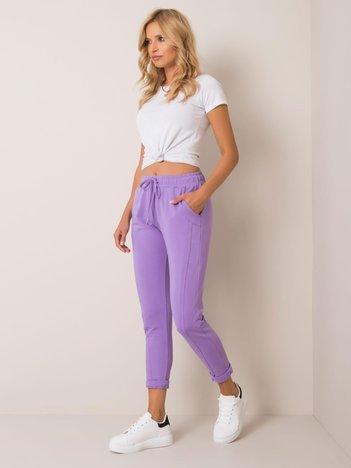 Fioletowe spodnie Approachable