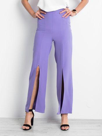 Fioletowe spodnie Considerable