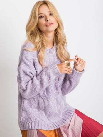 Fioletowy sweter Bali