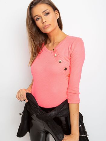 Fluo różowa bluzka Icon