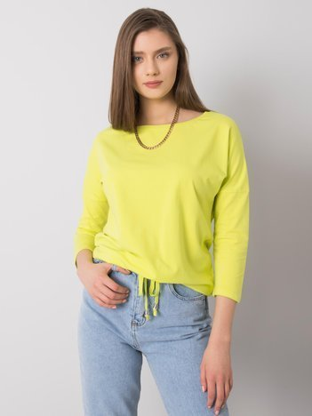 Fluo zielona bluzka Fiona