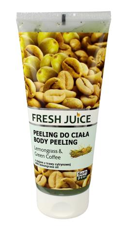Fresh Juice Peeling do ciała Lemongrass & Green Coffee 200 ml