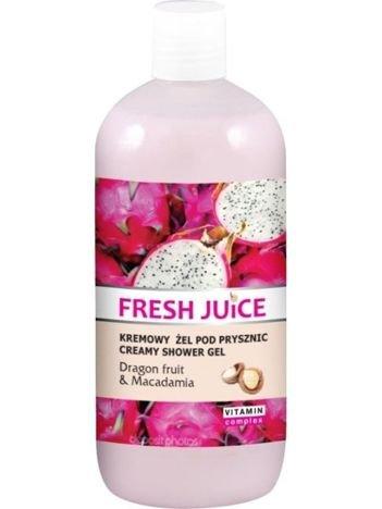 Fresh Juice Żel pod prysznic kremowy Smoczy Owoc i Macadamia 500 ml