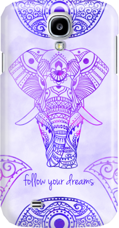Funny Case ETUI SAMSUNG S4 ELEPHANT