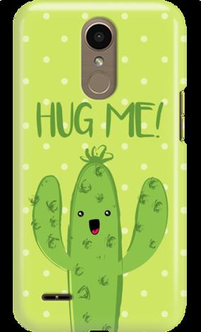 Funny Case LG K10 2017 CACTUS HUG ME