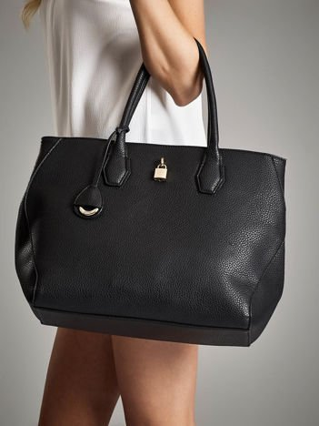 GABOR Czarna torba shopper bag