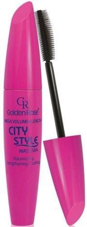 GOLDEN ROSE City Style Mascara - Tusz do rzęs wydłużająco-pogrubiający 9 ml