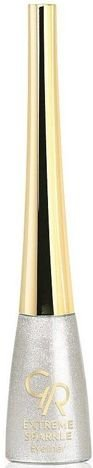 GOLDEN ROSE Extreme Sparkle Eyeliner - Brokatowy tusz do kresek Nr 101, 5,5 g
