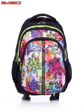 GRATIS!!! Plecak szkolny na kółkach z graficznym nadrukiem