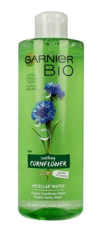 "Garnier BIO Woda micelarna do twarzy - Soothing Cornflower 400ml"""