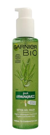 """Garnier BIO Żel do mycia twarzy detoksykujący - Fresh Lemongrass  150ml"""""""