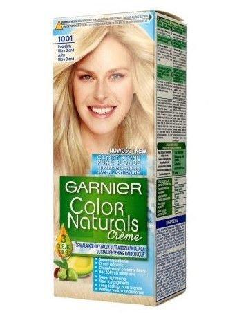 Garnier Color Naturals Krem koloryzujący nr 1001 Popielaty Ultra Blond