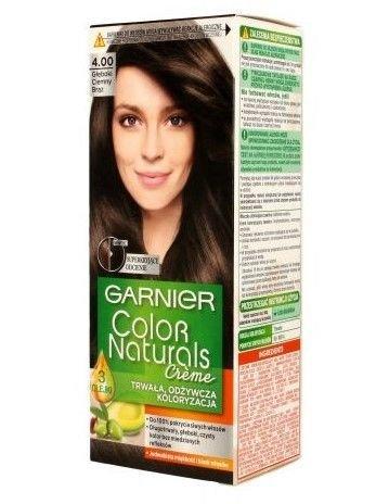 Garnier Color Naturals Krem koloryzujący nr 4.00 Głęboki Ciemny Brąz