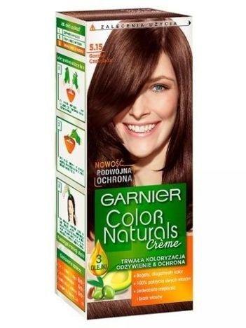 Garnier Color Naturals Krem koloryzujący nr 5.15 Gorzka Czekolada