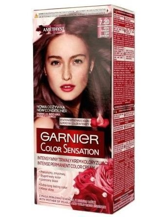 Garnier Color Sensation Krem koloryzujący do włosów 7.20 Jasny Ametyst