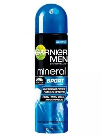 Garnier Mineral Men Antyperspirant w sprayu dla mężczyzn Sport 96h  150 ml