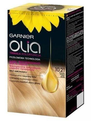 Garnier Olia Farba do włosów nr 10.21 Perłowy Bardzo Jasny Blond