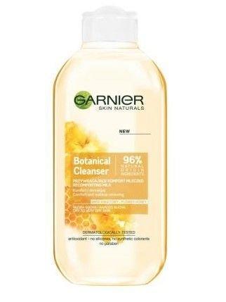 Garnier Skin Naturals Botanical Mleczko do demakijażu przywracające komfort Flower Honey  200 ml