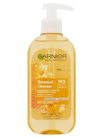 Garnier Skin Naturals Botanical Żel do mycia przywracający komfort Flower Honey  200 ml